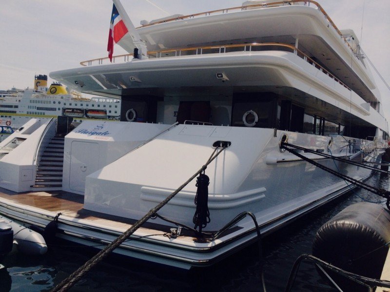 M/Y Stargate with Zytexx Ceramic Clear Coat Paint Protection