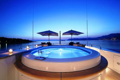 Jacuzzi and spa